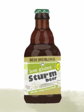 Sturm bière bio sans gluten