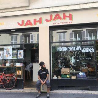 Façade restaurant JahJah