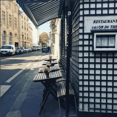 facade du restaurant Guenmai
