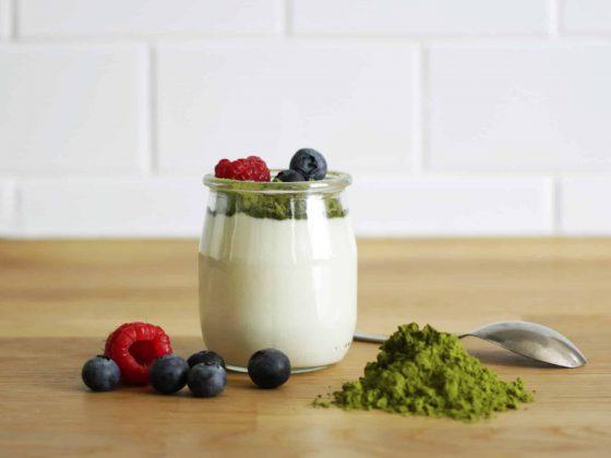 poudre moringa yaourt