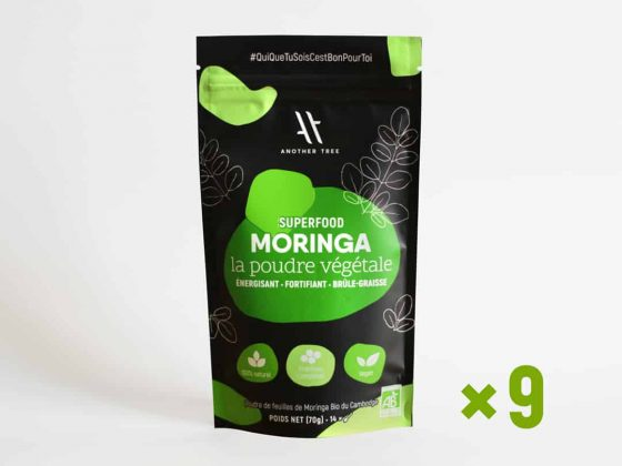 Cure moringa poudre bio Cure de 3 mois ANOTHER TREE