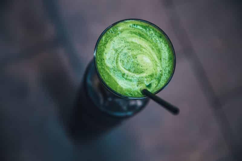 smoothie végétal au moringa