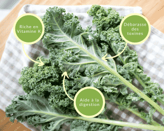 Intégrer le chou Kale à son alimentation est un bénéfice lors de régimes