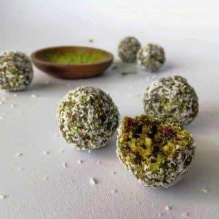 energy balls moringa